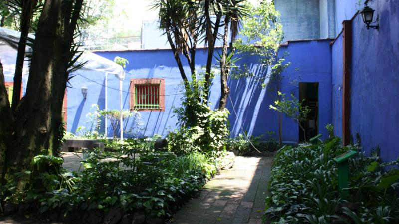 Mexican Dreaming at the Casa Azul, Coyaocan, Mexico City.