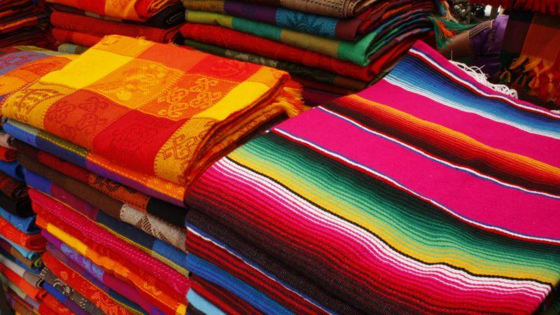 The Artisan Market of San Cristobel de las Casas, Chiapas State,Mexico